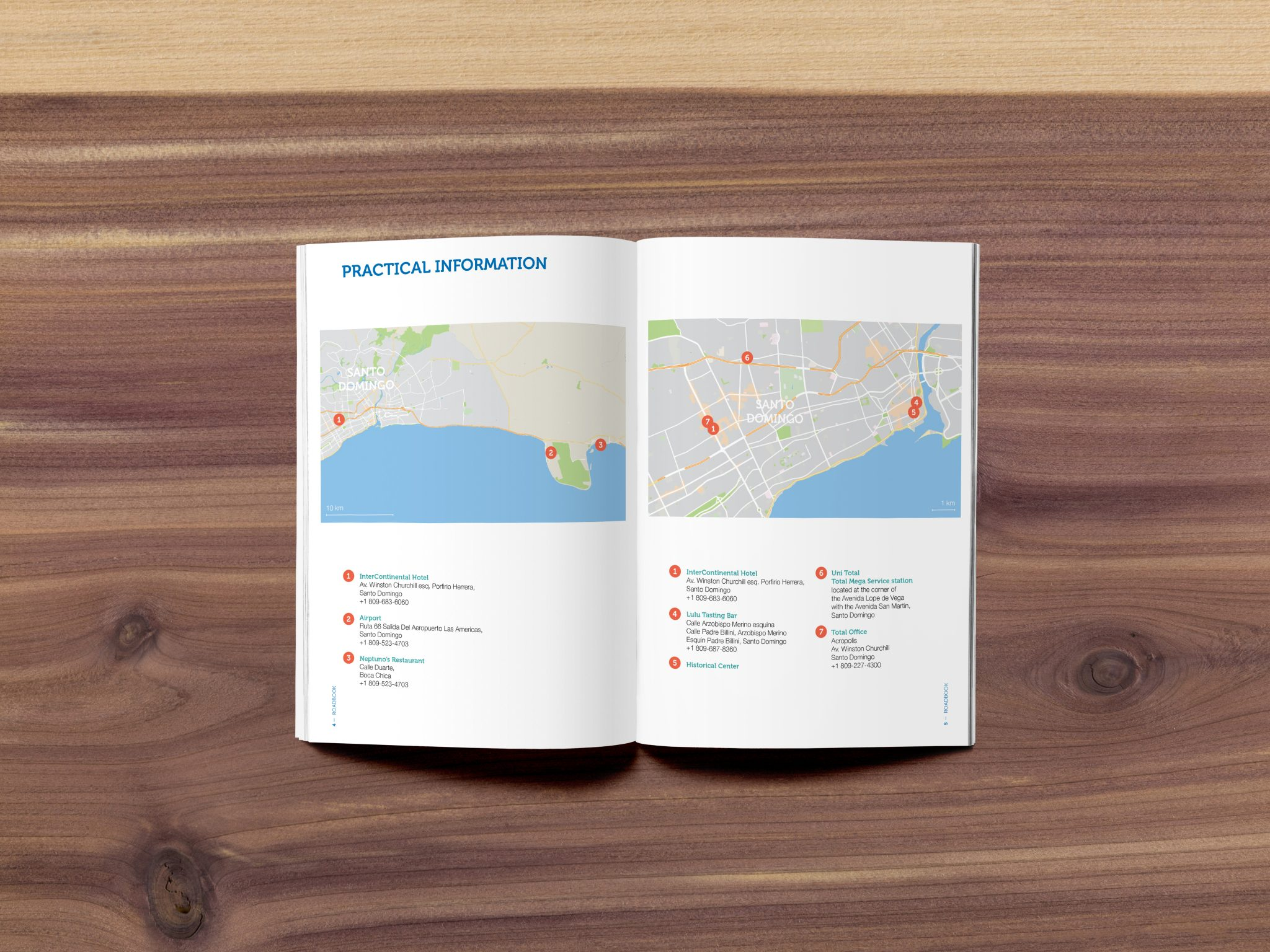studio witvrouwen layout design graphic mise en page brochure roadbook Total data design