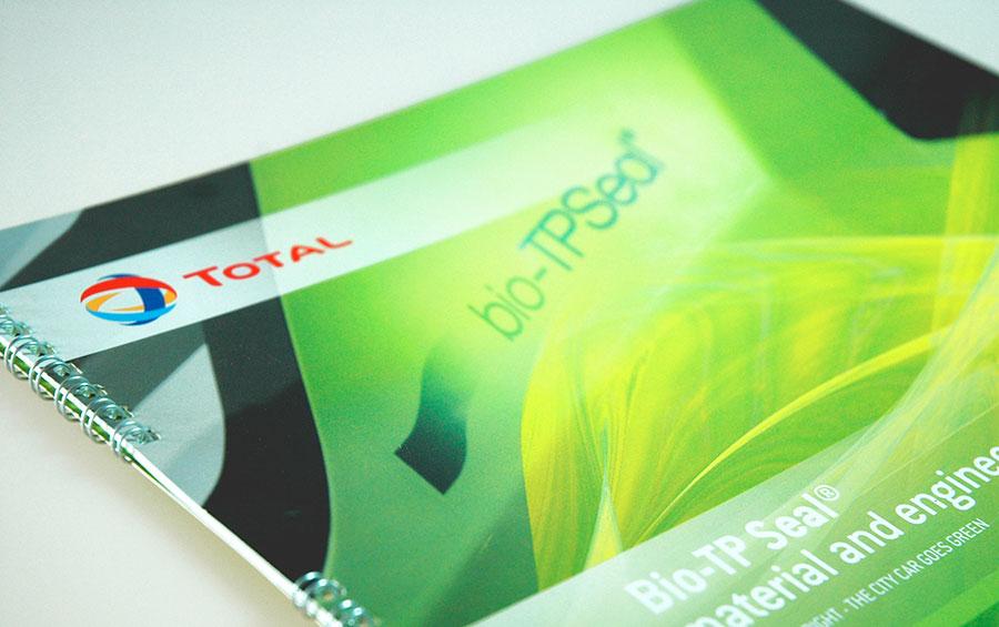 studio witvrouwen graphic design identity branding layout Total