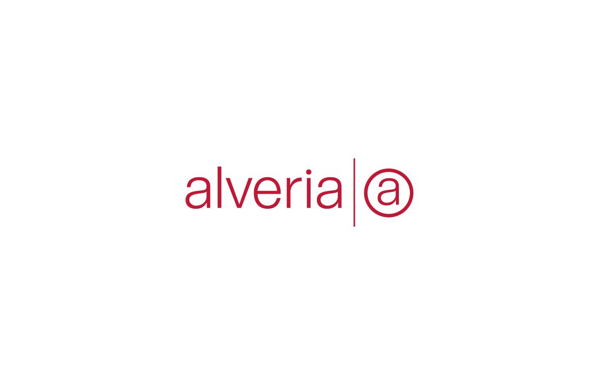 studio witvrouwen graphic design layout business card identity branding alveria logo logotype