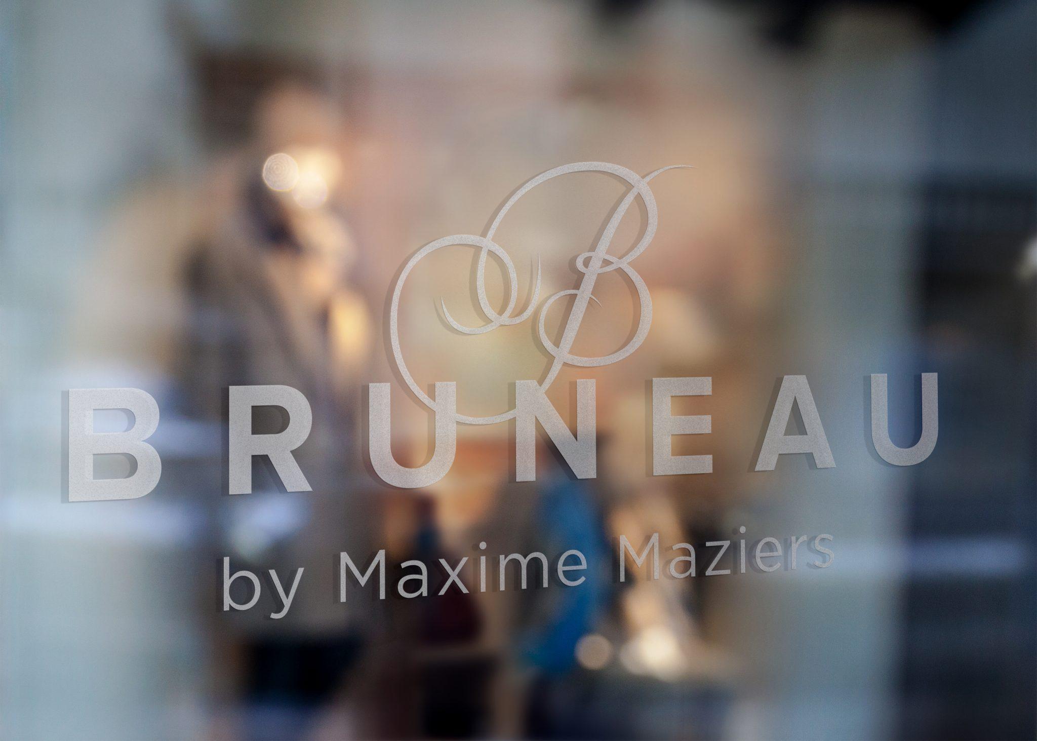 studio witvrouwen graphic design identity branding logotype logo Maxime Maziers chef restaurant