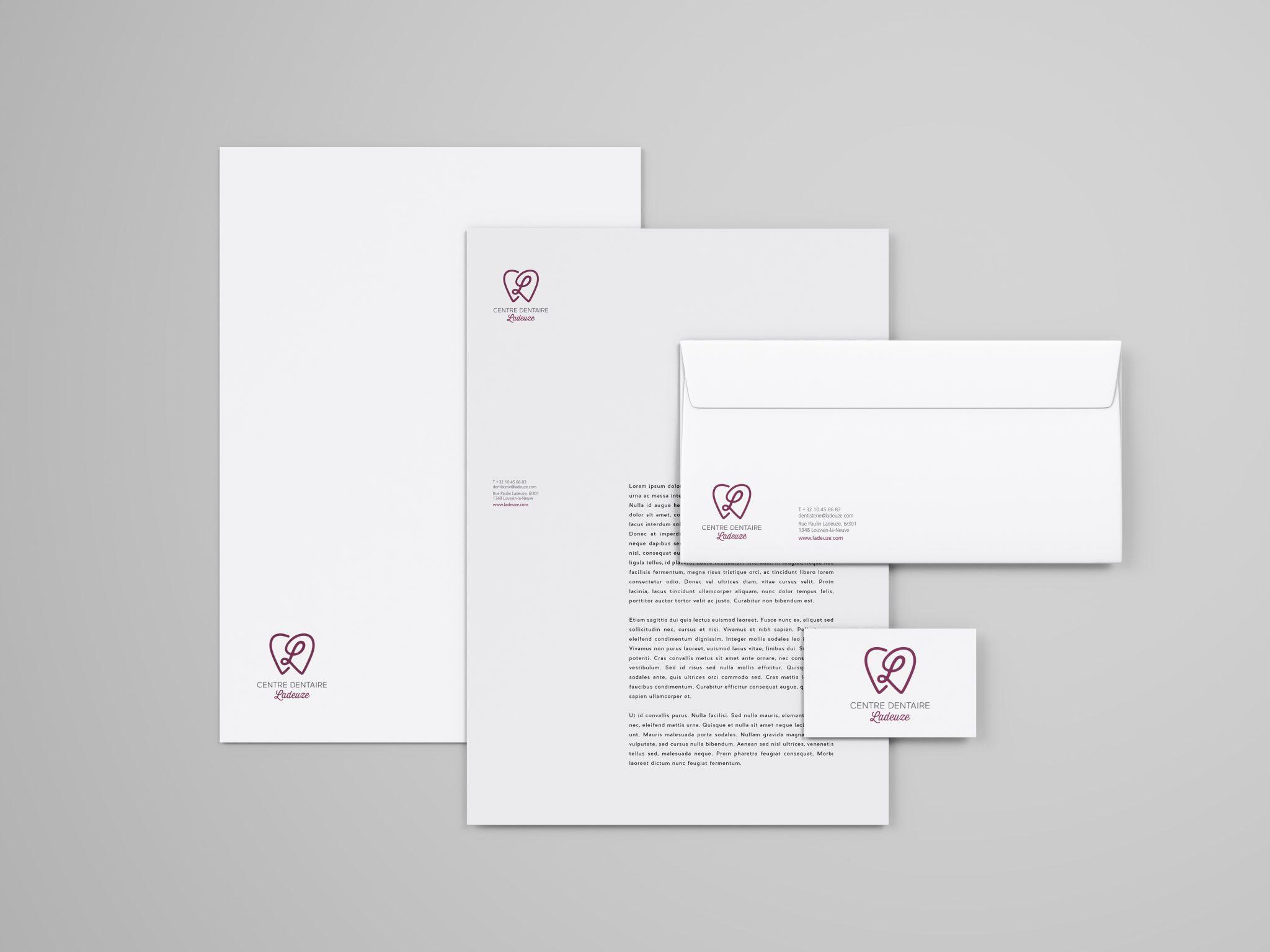 studio witvrouwen graphic design identity branding logotype logo papeterie