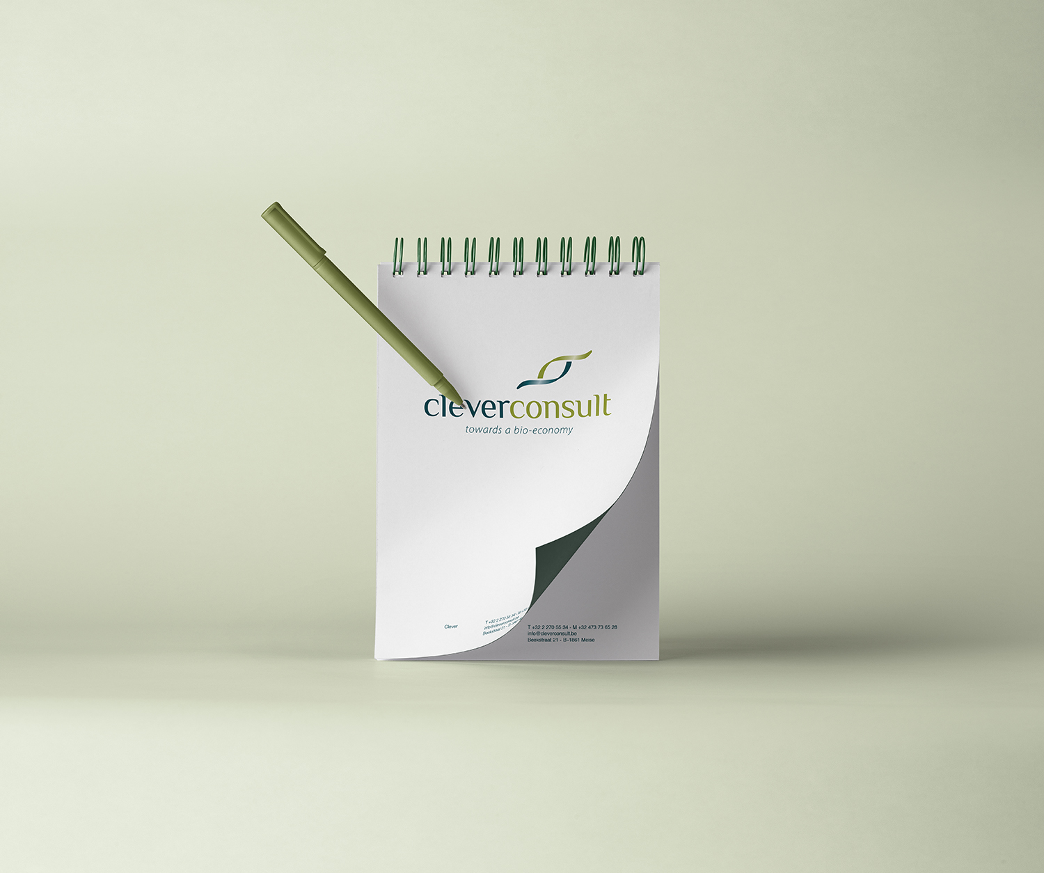 studio witvrouwen branding design graphic color visual identity data design clever consult