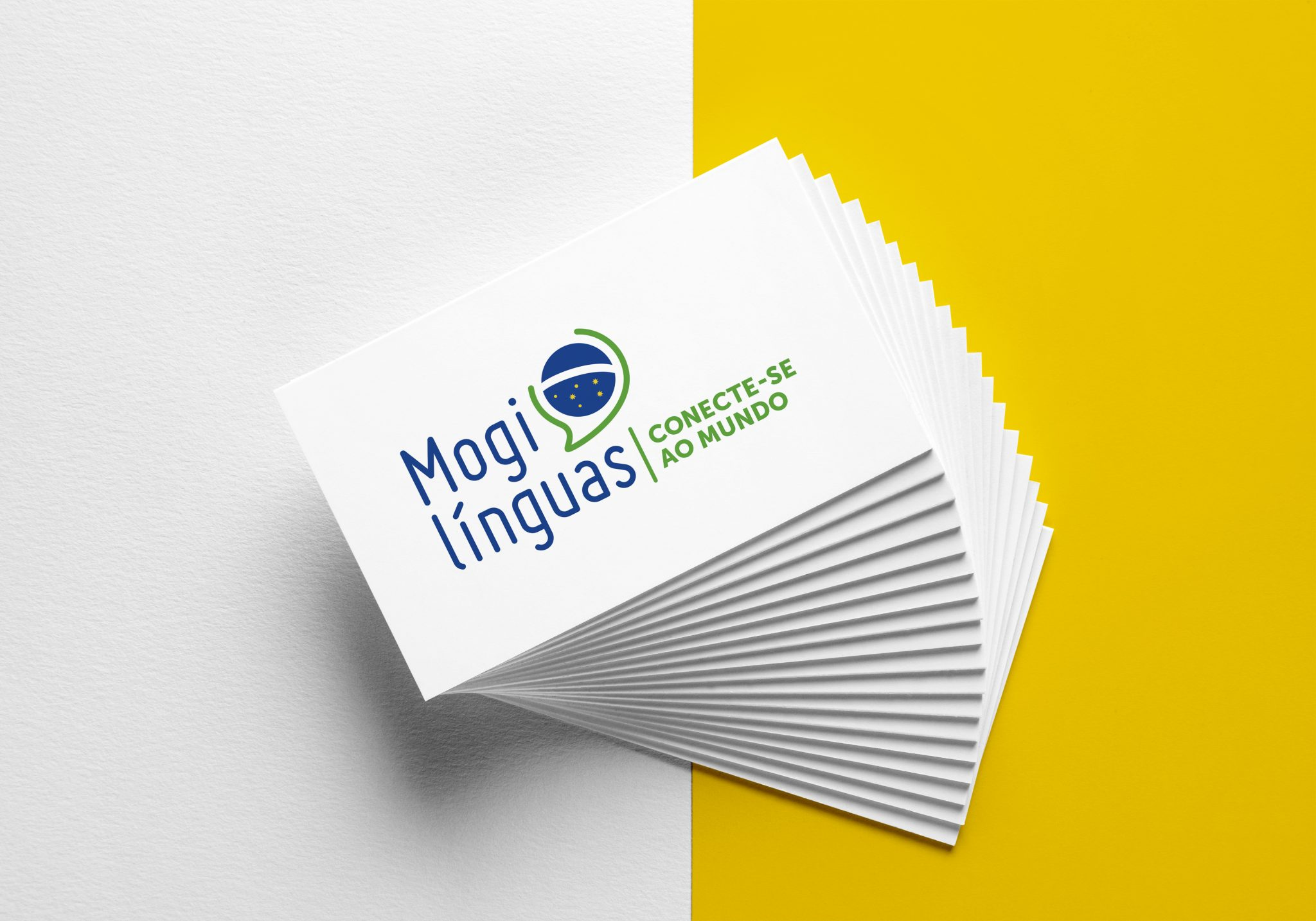 studio witvrouwen graphic design identity branding logotype logo mogilinguas business card