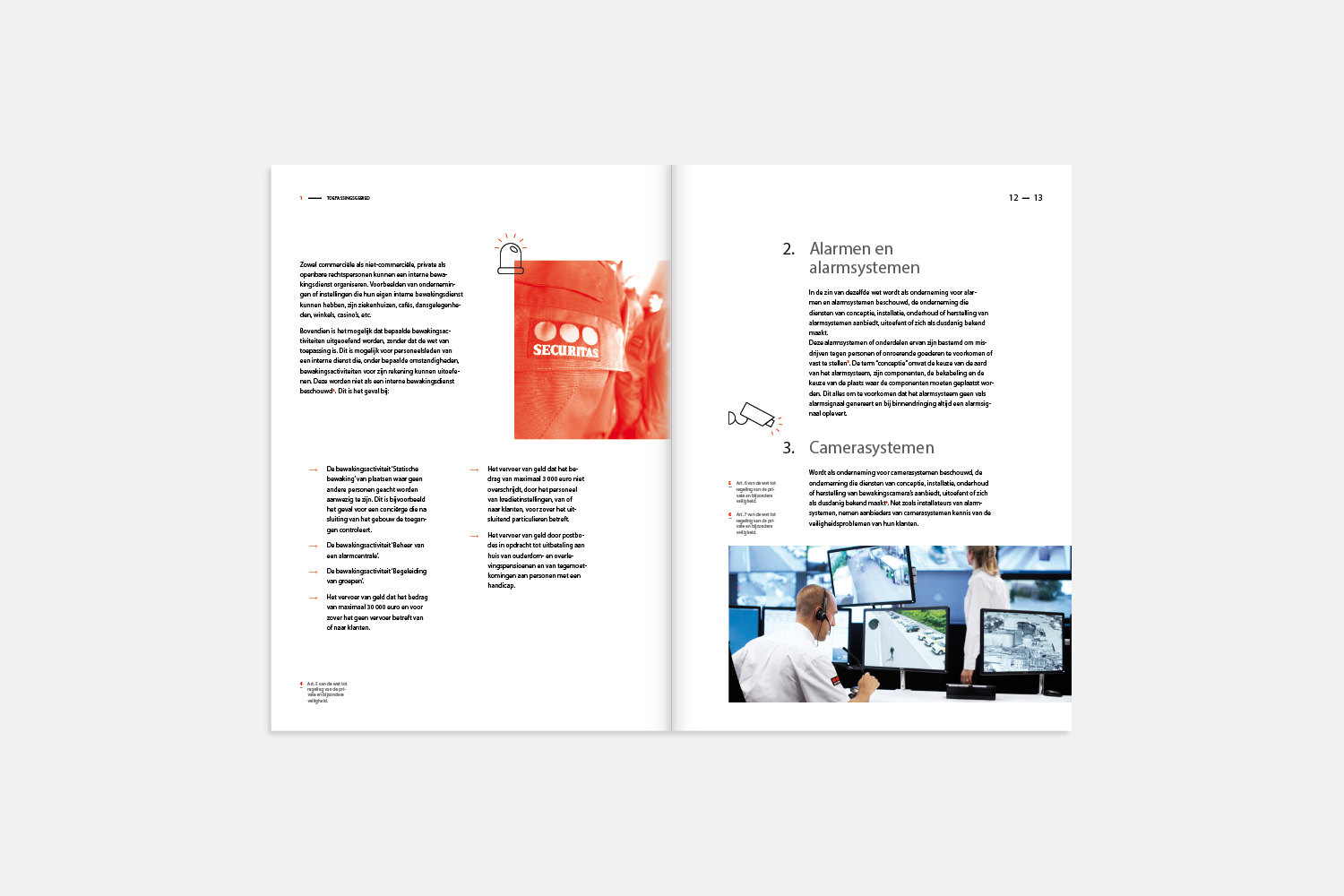 studio witvrouwen graphic design identity branding layout securitas