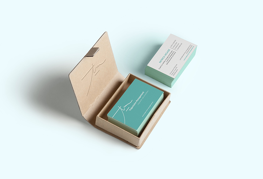 studio witvrouwen graphic design identity branding business card